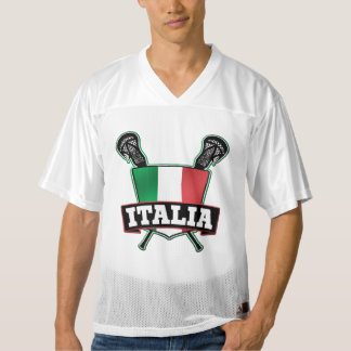 Name & Number Italy Italia Lacrosse Men's Football Jersey