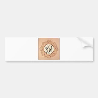 Name of Allah by Hafiz Osman Bumper Sticker