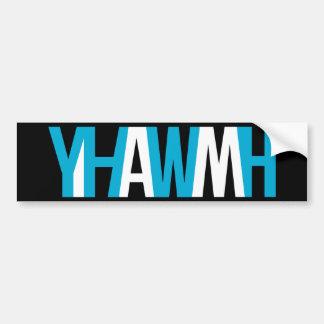 "Name of God - YHWH ""I AM"" Bumper Sticker"