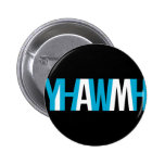 """Name of God - YHWH """"I AM"""" Pinback Buttons"""