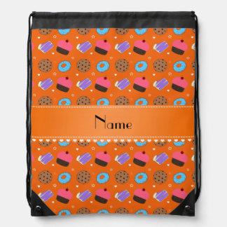 Name orange cupcake donuts cake cookies backpack
