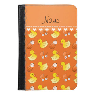 Name orange rubberduck baby carriage