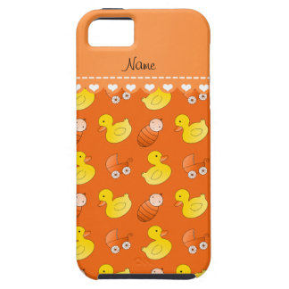 Name orange rubberduck baby carriage iPhone SE/5/5s case
