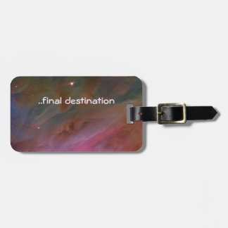 Name, Orion Nebula Pillars of Dust space image Luggage Tag