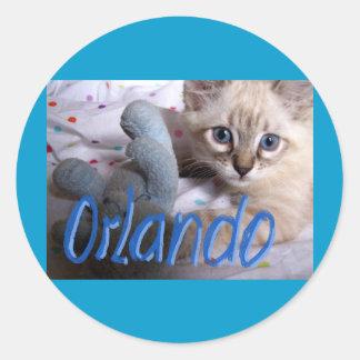 name Orlando Stickers