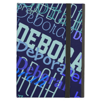 name pattern maker case for iPad air