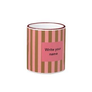 Name Peach Mug