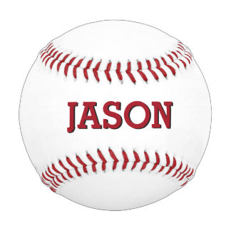 Name Personalized Custom Baseball