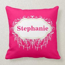 Name Throw Pillow