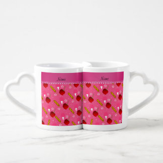 Name pink cotton candy apples corn dogs couples' coffee mug set