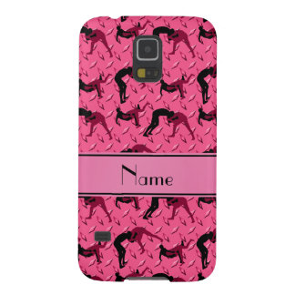 Name pink diamond steel plate wrestling case for galaxy s5