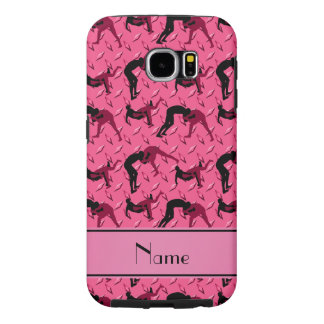 Name pink diamond steel plate wrestling samsung galaxy s6 case