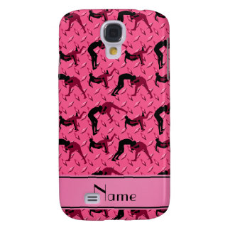 Name pink diamond steel plate wrestling samsung s4 case