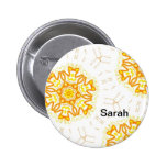 Name plate button multicolored abstractly name ind