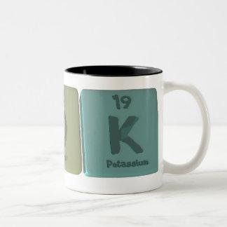 name-Pok-P-O-K-Phosphorus-Oxygen-Potassium Two-Tone Coffee Mug