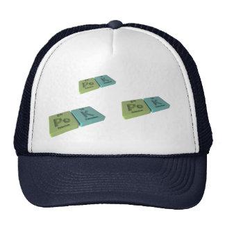 name-Pok-Po-K-Polonium-Potassium Mesh Hat