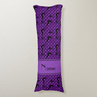 Name purple diamond steel plate wrestling body pillow