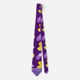 Name purple rubberduck baby carriage tie