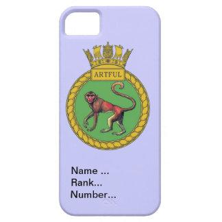 Name, rank, Number, HMS Artful iPhone SE/5/5s Case