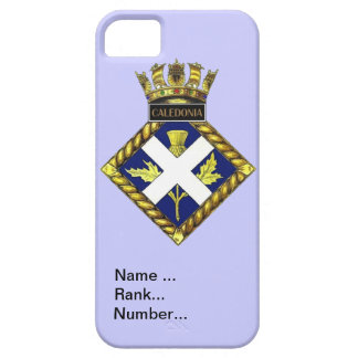 Name, rank, Number, HMS Caledonia iPhone SE/5/5s Case