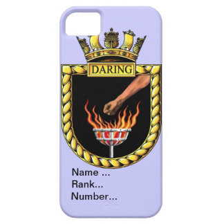 Name, rank, Number, HMS Daring iPhone SE/5/5s Case