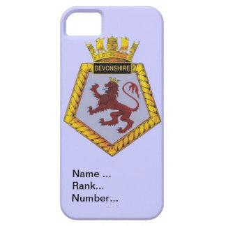 Name, rank, Number, HMS Devonshire iPhone SE/5/5s Case