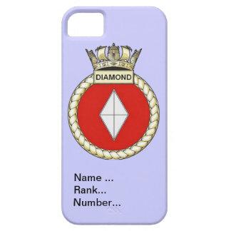 Name, rank, Number, HMS Diamond iPhone SE/5/5s Case