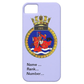 Name, rank, Number, HMS Fife iPhone SE/5/5s Case