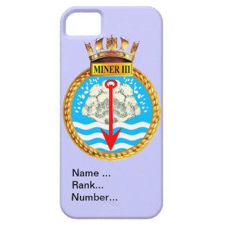 Name, rank, Number, HMS Miner III iPhone SE/5/5s Case