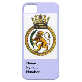 Name, rank, Number, HMS Nelson iPhone SE/5/5s Case