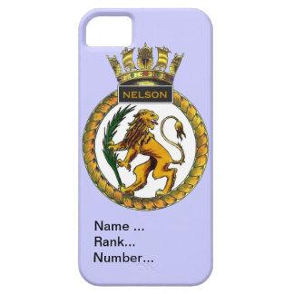 Name, rank, Number, HMS Nelson,shore establishment iPhone SE/5/5s Case