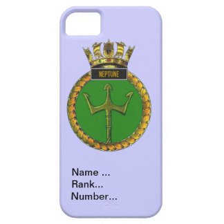 Name, rank, Number, HMS Neptune iPhone SE/5/5s Case