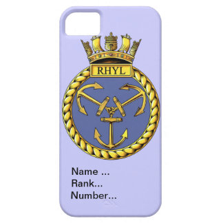 Name, rank, Number, HMS Rhyl iPhone SE/5/5s Case