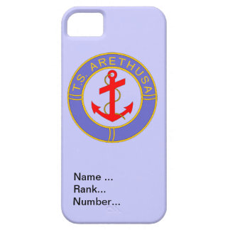 Name, rank, Number, TS Arethusa iPhone SE/5/5s Case