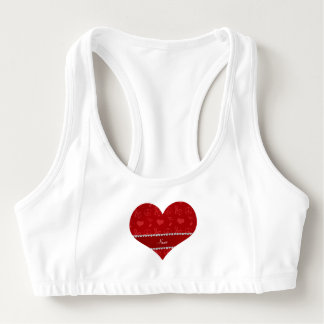 Name red music notes hearts peace sign sports bra