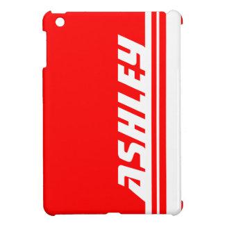 Name red & white stripe sport ipad mini iPad mini cover