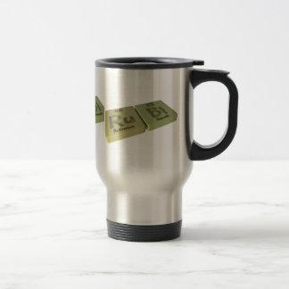 name-Rubi-Ru-Bi-Ruthenium-Bismuth Coffee Mug