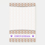 [ Thumbnail: Name; Rustic Beige and Gray Diamond Shape Pattern Notes ]