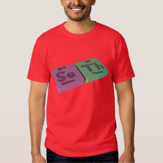 name-Seth-Se-Th-Selenium-Thorium Tee Shirt