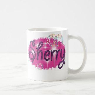 Name Sherry Coffee Mugs
