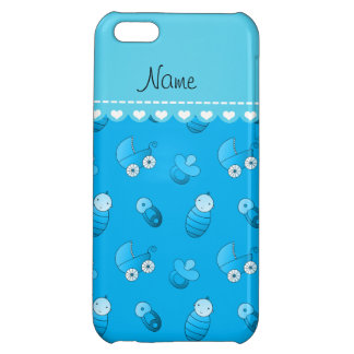 Name sky blue baby pin carriage pacifier iPhone 5C covers