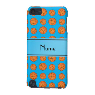 Name sky blue basketball pattern iPod touch (5th generation) cover