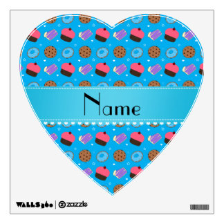 Name sky blue cupcake donuts cake cookies room graphic