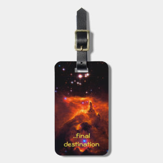 Name, Star Cluster Pismis 24 outer space image Luggage Tag