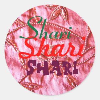 name sticker for Sheri