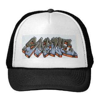 name suave trucker hat