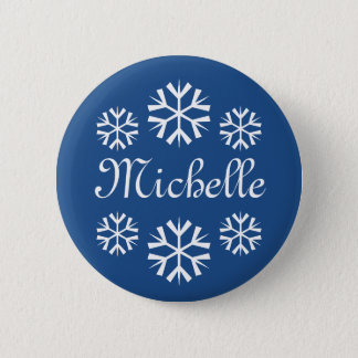 Name tag buttons for company Christmas party