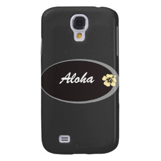 Name tag hibiscus design galaxy s4 covers