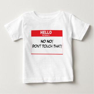 Name Tag Humor Tshirt