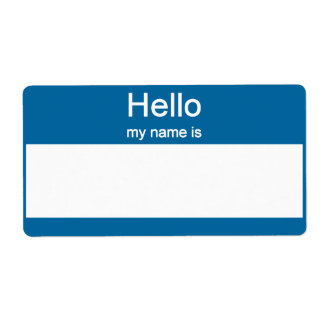 Name tag Labels Shipping Label